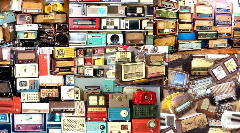 oude radio's puzzel