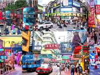 străzile marilor orașe puzzle online