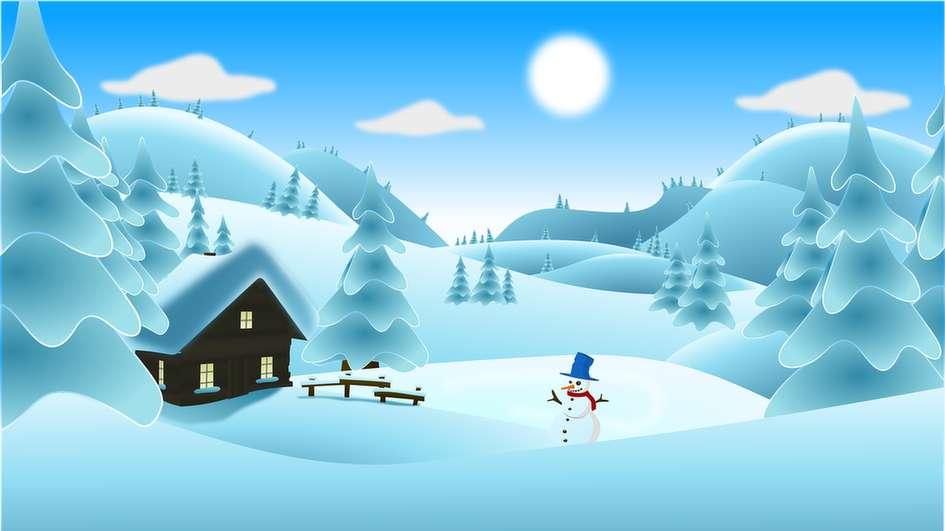 Inverno - a aldeia