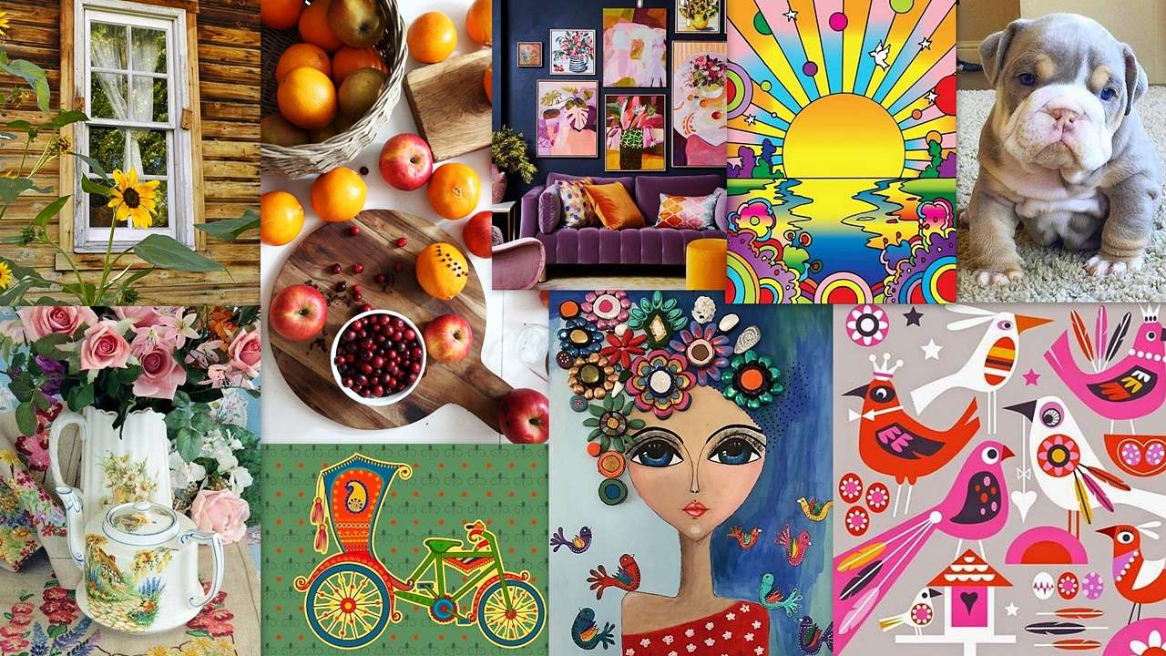 Mish mash - A colorful collage for everyone :) (19×11)