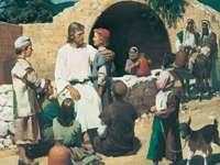 Jezus zegent kinderen