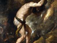 Sisyphus puzzle for exercise
