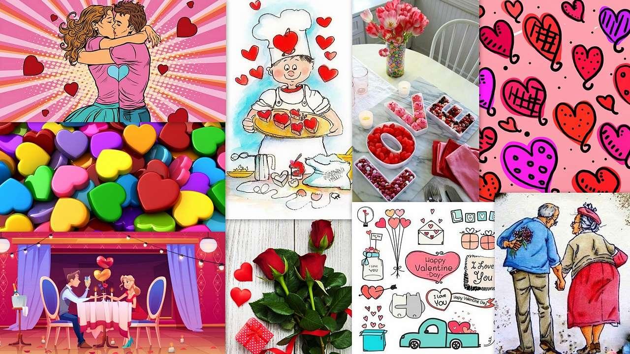 Dia dos Namorados - Tenha um bom Dia dos Namorados, querido quebra-cabeças;) :) (19×11)