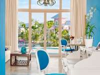 Teal Motif Luxury Suite