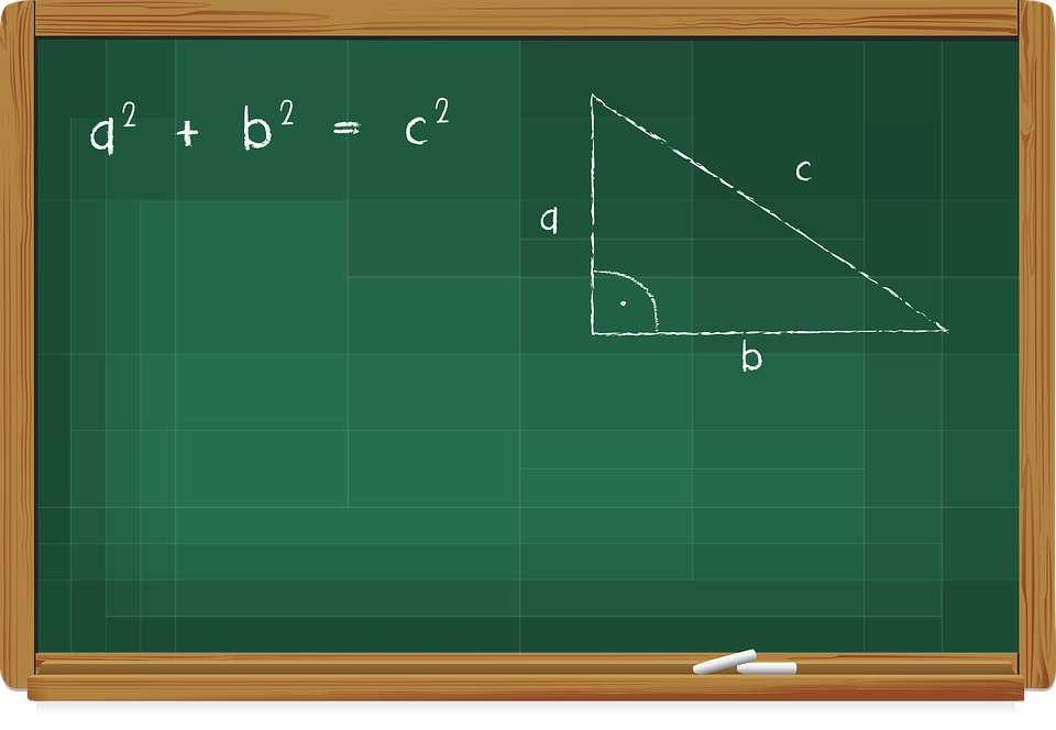Teorema de Pitágoras - Acomoda las piezas en el menor tiempo posible (5×4)