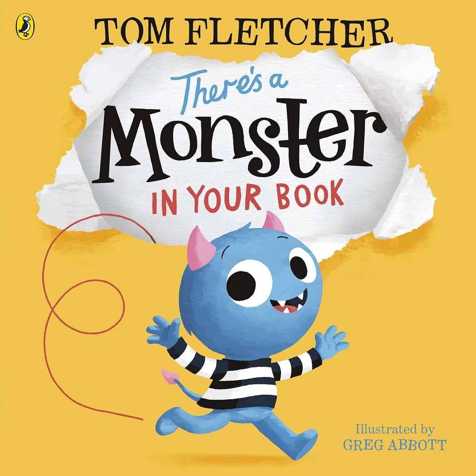 There's a Monster in Your Book - Make the puzzle for There's a Monster In Your Book (4×4)
