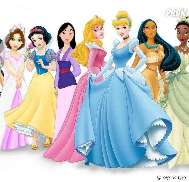 Princesses - Disney princesses puzzle (4×4)