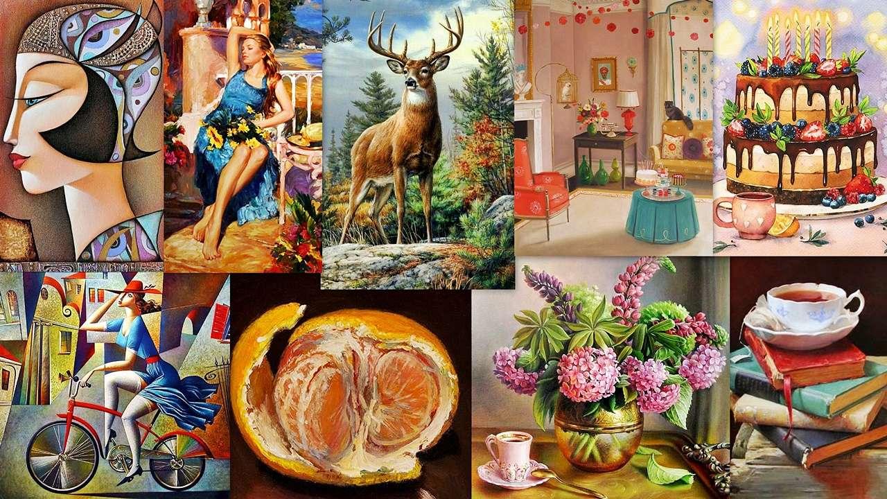 Collage d'images - Un collage coloré de belles images pour tout le monde (19×11)