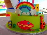 Party cake for kids