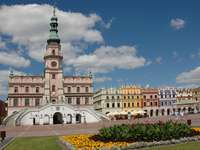 zamość - the market square