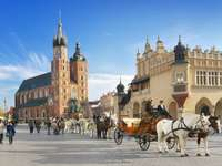 Marknadstorget i Krakow