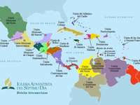 Mapa interamérica