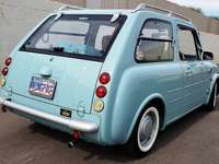 Nissan Pao - Posteriore