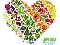 Färgrik mat - grönsaker