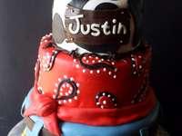 Justins födelsedagstårta