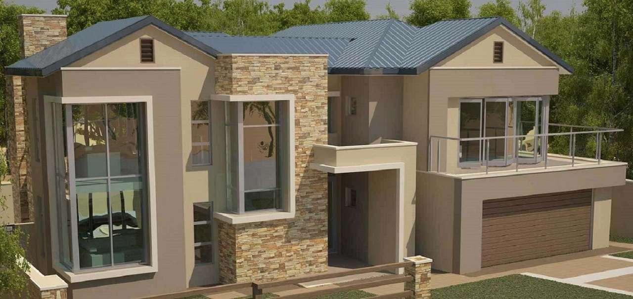 Casă de lux modernă - Design modern de casă de lux (19×9)