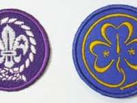 Badges of scouting organizations