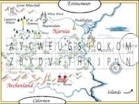 Karte der Geschichten