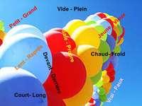 Les contraires Ballons