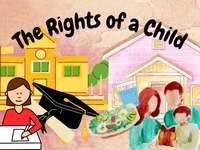 Los derechos de un niño