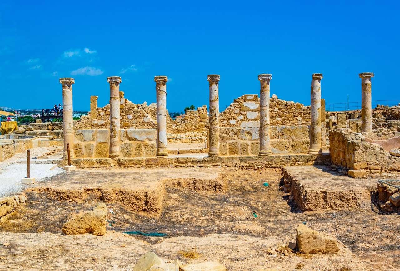 Ruinas en Chipre