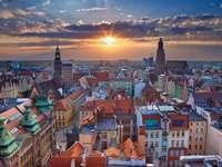 Breslavia City of Polsko puzzle z fotografie