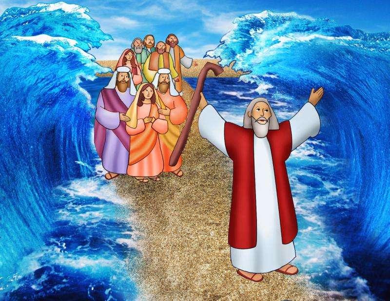 Moisés e mar