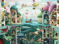 Pokud by ryby mohly chodit puzzle z fotografie