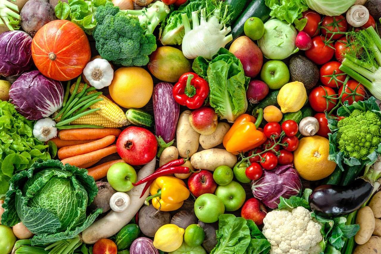 Vers fruit en groenten online puzzel