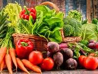 Σύνθεση με λαχανικά