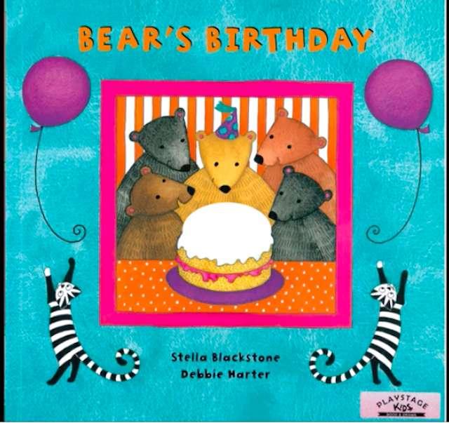 BEAR'S BIRTHDAY COVER
