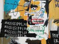 Basquiatic Painting