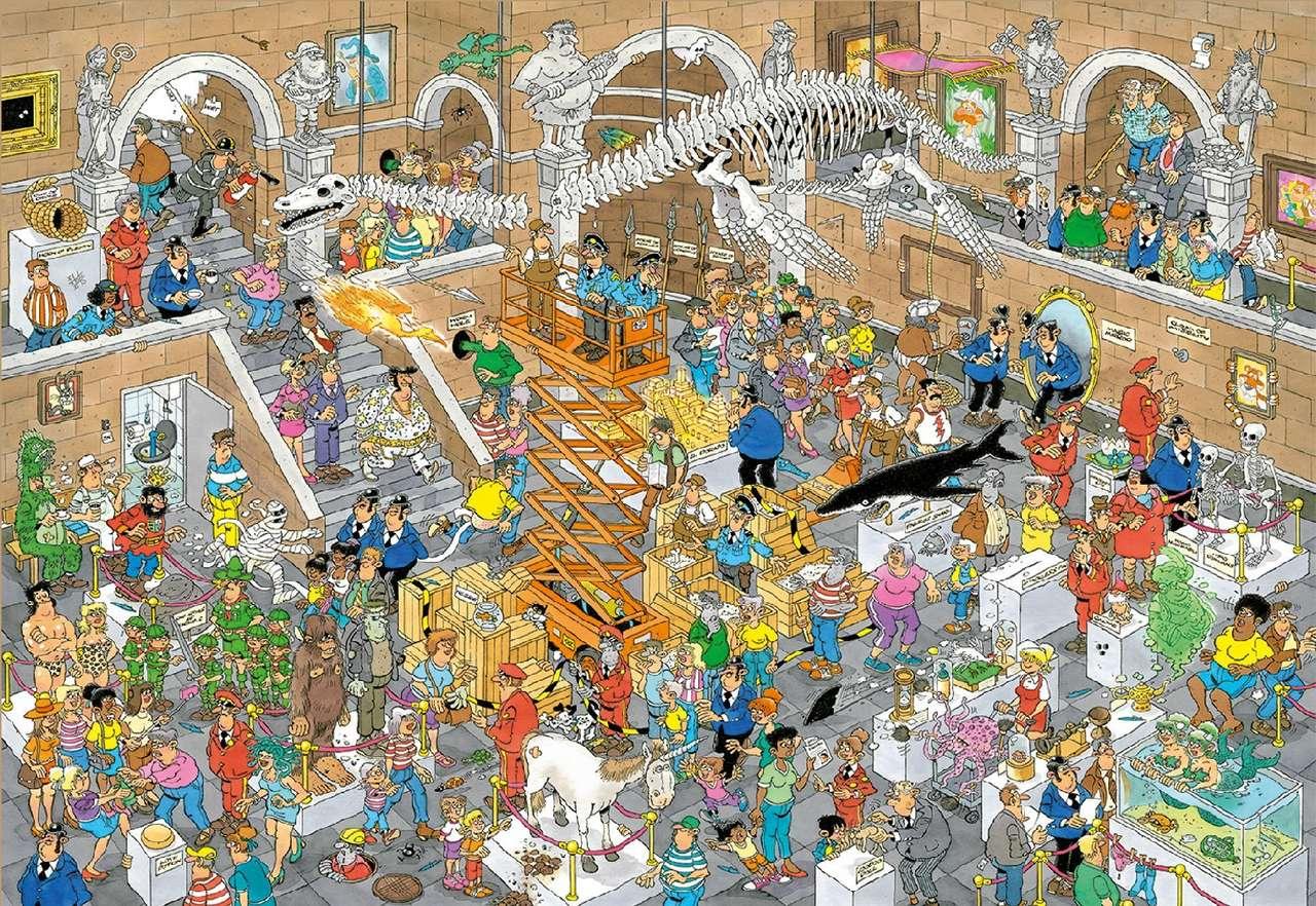 Jan van Haasteren. puzzle