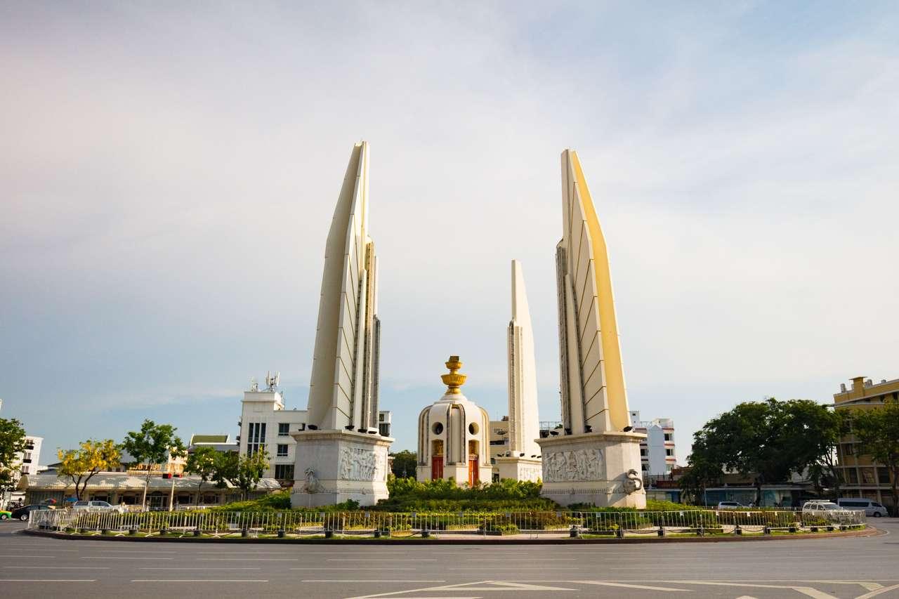 Demokratie Denkmal Bangkok.