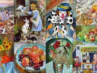 Collage of images