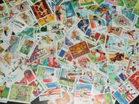 Athletic stamps