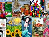 Collage di immagini.