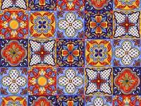 Мексикански модел керамични плочки talavera