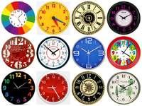 Clocks ...