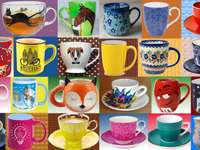 Mugs and cups online puzzle